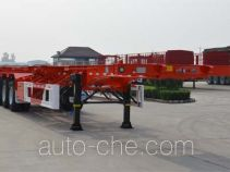 Tianjun Dejin TJV9400TJZF container transport trailer