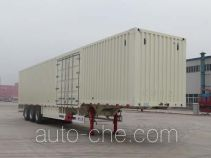 Tianjun Dejin TJV9400XXYE box body van trailer