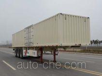 Tianjun Dejin TJV9400XXYF box body van trailer