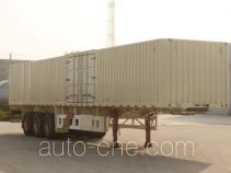 Tianjun Dejin TJV9400XXYG box body van trailer