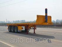 Tianjun Dejin TJV9400ZZXPE flatbed dump trailer