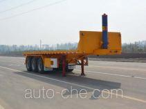 天骏德锦牌TJV9400ZZXPE型平板自卸半挂车