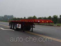 Tianjun Dejin TJV9400ZZXPG flatbed dump trailer
