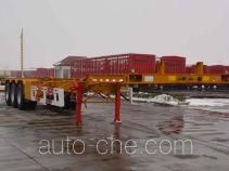 天骏德锦牌TJV9401TJZE型集装箱运输半挂车