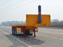Tianjun Dejin TJV9401ZZXPE flatbed dump trailer