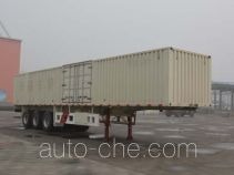 Tianjun Dejin TJV9402XXYF box body van trailer