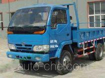 天菱牌TL4010DS型自卸低速货车