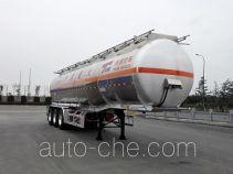 Tianming TM9404GRYYC2 flammable liquid aluminum tank trailer