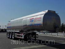 天明牌TM9404GSYFC2型铝合金食用油运输半挂车