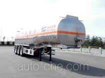 Tianming TM9404GYYFH2 aluminium oil tank trailer