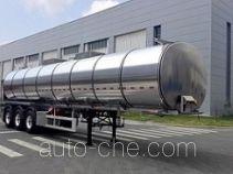 天明牌TM9407GSYTF2型铝合金食用油运输半挂车