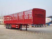 鹏合牌TPX9400CCY型仓栅式运输半挂车