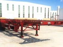 Tuqiang TQP9350TWY dangerous goods tank container skeletal trailer