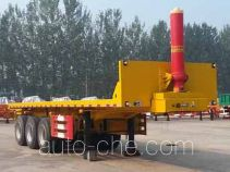 Tuqiang TQP9400ZZXP flatbed dump trailer