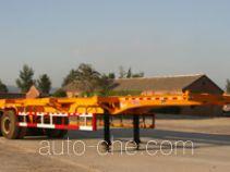 八匹马牌TSS9351TJZ型集装箱运输半挂车