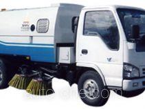 Huahuan TSW5062TSL street sweeper truck with rear roller