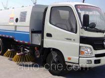 Huahuan TSW5066TSL street sweeper truck with rear roller
