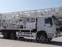 Tiantan (Tianjin) TT5252TZJSPC-600HW drilling rig vehicle