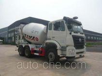 亚特重工牌TZ5255GJBZ6EJ5G型混凝土搅拌运输车