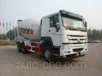 亚特重工牌TZ5257GJBZE3E1型混凝土搅拌运输车
