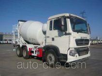 亚特重工牌TZ5257GJBZG6D型混凝土搅拌运输车