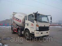 亚特重工牌TZ5257GJBZH6D型混凝土搅拌运输车