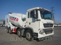 亚特重工牌TZ5317GJBZG8D型混凝土搅拌运输车