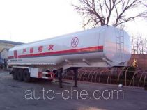 亚特重工牌TZ9390GYY型运油半挂车