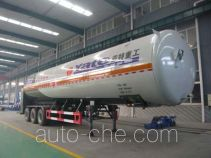 Yate YTZG TZ9400GDY cryogenic liquid tank semi-trailer