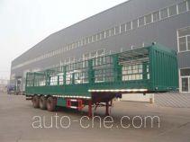 亚特重工牌TZ9401CLX型仓栅式运输半挂车