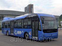万达牌WD6125EHEV1型混合动力城市客车