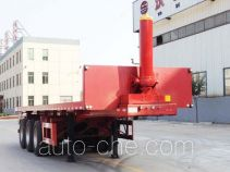 Wodeli WDL9401ZZXP flatbed dump trailer