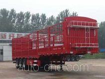 沃德利牌WDL9403CCYE型仓栅式运输半挂车