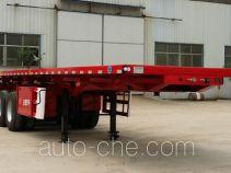 Wodeli WDL9404ZZXP flatbed dump trailer