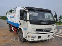 Jinyinhu trash containers transport double deck truck