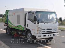 Jinyinhu WFA5100TXSQ street sweeper truck