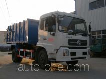 Jinyinhu enclosed body garbage truck