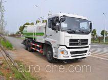 金银湖牌WFA5254GXSEE5NG型清洗洒水车