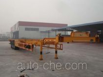 Tuoshan WFG9390TJZ container carrier vehicle