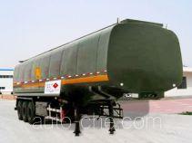 Tuoshan WFG9401GHY chemical liquid tank trailer