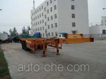 Tuoshan container transport trailer