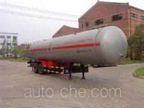 四六牌WHC9330GTR型永久气体运输半挂车