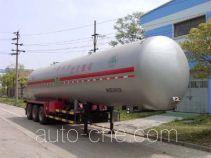 四六牌WHC9341GTR型永久气体运输半挂车