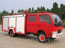 Yunhe WHG5040GXFSG10 fire tank truck