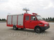 云鹤牌WHG5040TXFJY10型抢险救援消防车