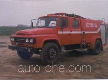 Yunhe WHG5090GXFSG35T fire tank truck