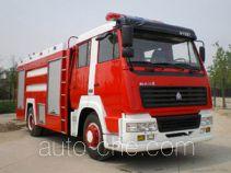 Yunhe WHG5190GXFPM80Ⅱ foam fire engine