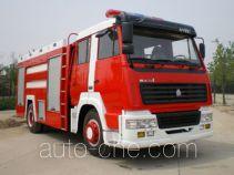 Yunhe WHG5190GXFSG80Ⅱ fire tank truck