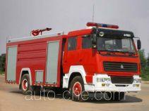 Yunhe WHG5191GXFPM80 foam fire engine