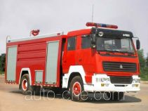 Yunhe WHG5191GXFSG80 fire tank truck